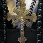 costume de deuil (années 1880) détail