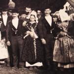Noce à Carnac vers 1890